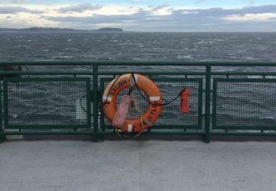 Onboard the Salish