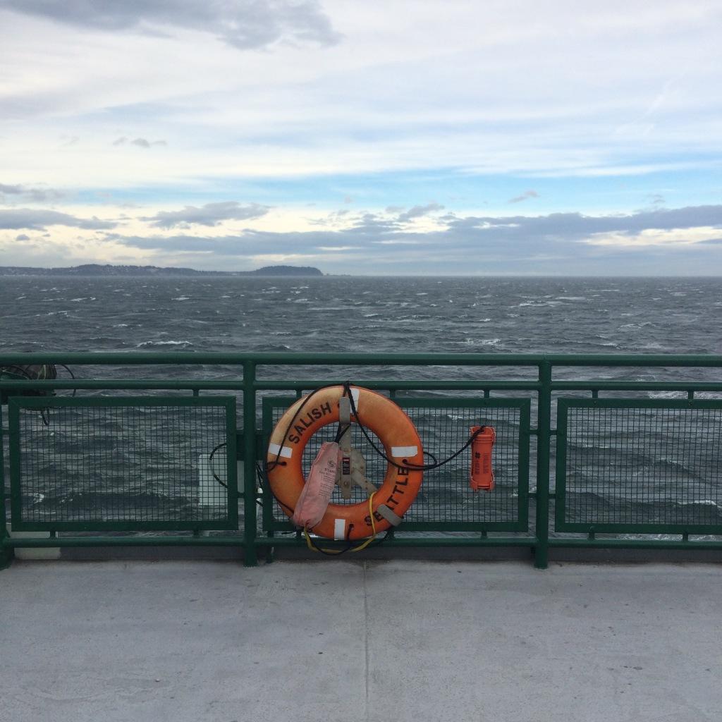 On Board the Sallish