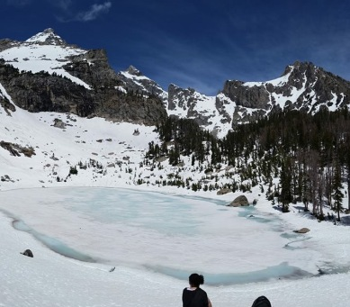 Amphitheater Lake, Wyoming