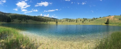 Grizzly Lake, Wyoming